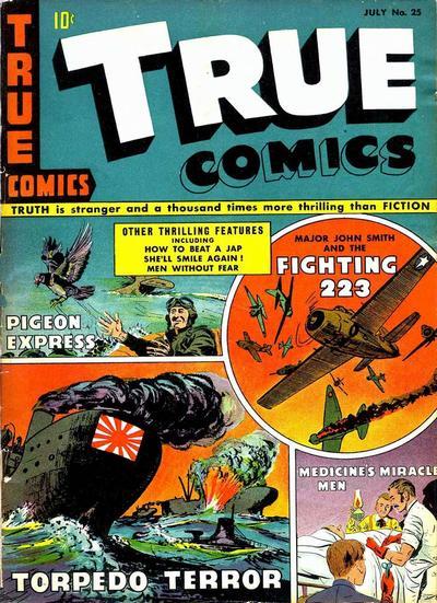 Cover for True Comics (Parents' Magazine Press, 1941 series) #25