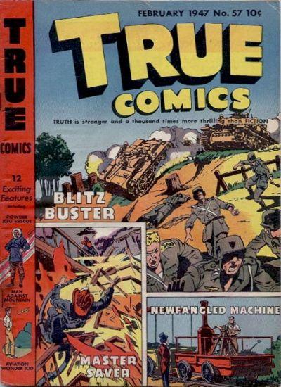 Cover for True Comics (Parents' Magazine Press, 1941 series) #57