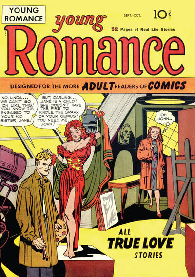 Cover for Young Romance (Prize, 1947 series) #v1#1 [1]