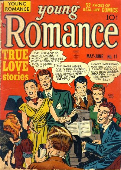 Cover for Young Romance (Prize, 1947 series) #v2#5 (11)