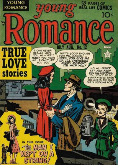 Cover for Young Romance (Prize, 1947 series) #v2#6 (12)