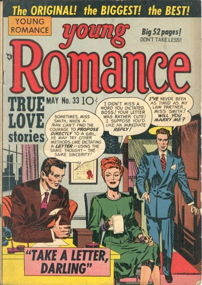 Cover for Young Romance (Prize, 1947 series) #v4#9 (33)