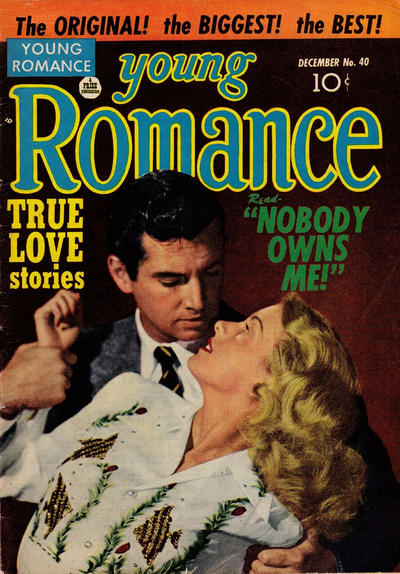 Cover for Young Romance (Prize, 1947 series) #v5#4 (40)