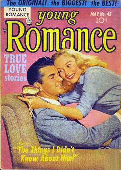 Cover for Young Romance (Prize, 1947 series) #v5#9 (45)