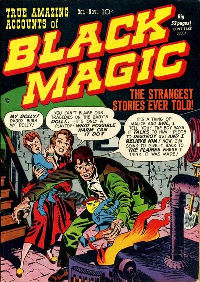 Cover for Black Magic (Prize, 1950 series) #v1#1 [1]