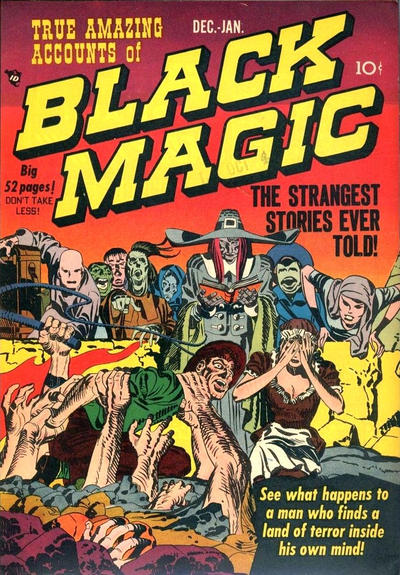 Cover for Black Magic (Prize, 1950 series) #v1#2 [2]