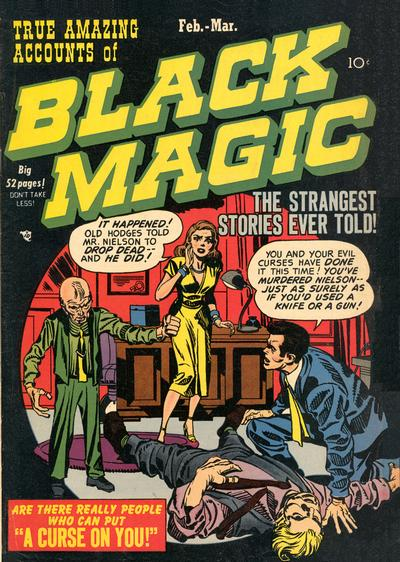 Cover for Black Magic (Prize, 1950 series) #v1#3 [3]