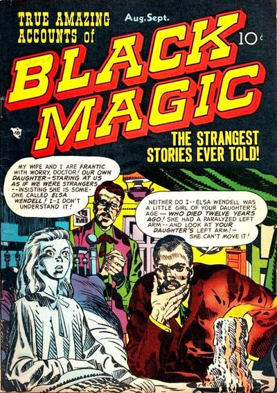 Cover for Black Magic (Prize, 1950 series) #v1#6 [6]