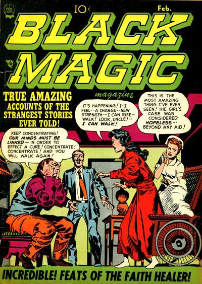 Cover for Black Magic (Prize, 1950 series) #v2#3 [9]