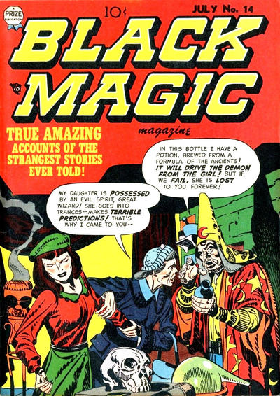 Cover for Black Magic (Prize, 1950 series) #v2#8 (14)