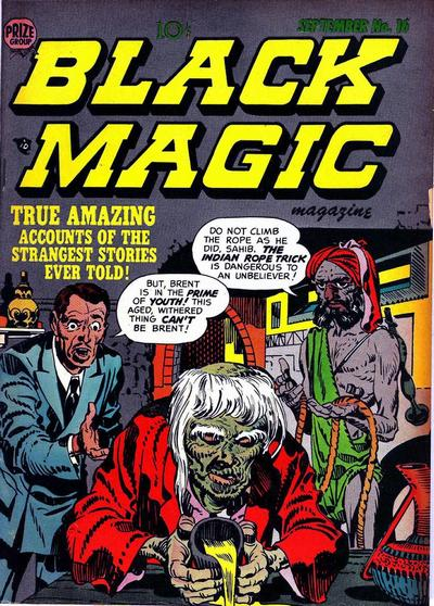 Cover for Black Magic (Prize, 1950 series) #v2#10 (16)