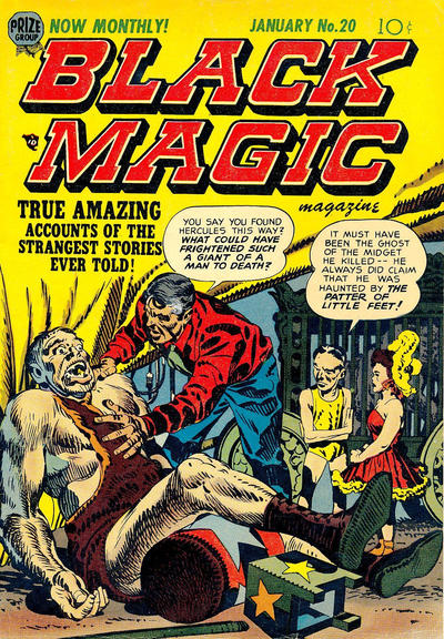 Cover for Black Magic (Prize, 1950 series) #v3#2 (20)
