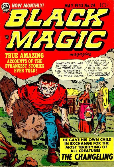 Cover for Black Magic (Prize, 1950 series) #v3#6 (24)