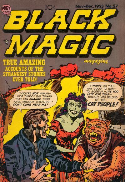 Cover for Black Magic (Prize, 1950 series) #v4#3 (27)