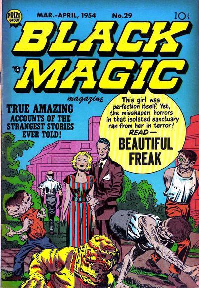 Cover for Black Magic (Prize, 1950 series) #v4#5 (29)