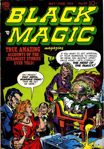 Cover for Black Magic (Prize, 1950 series) #v4#6 (30)