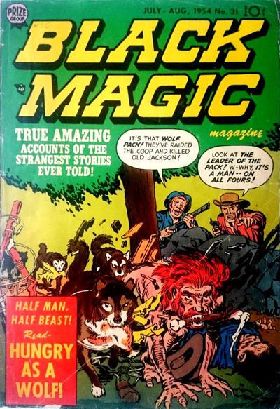 Cover for Black Magic (Prize, 1950 series) #v5#1 (31)