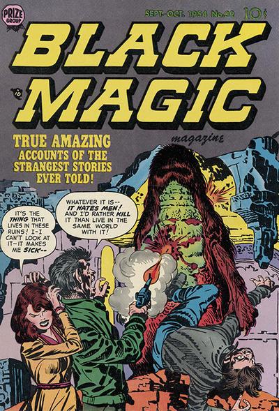 Cover for Black Magic (Prize, 1950 series) #v5#2 (32)