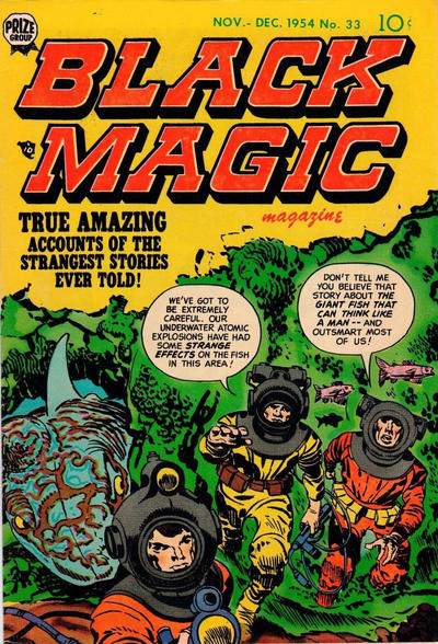 Cover for Black Magic (Prize, 1950 series) #v5#3 (33)