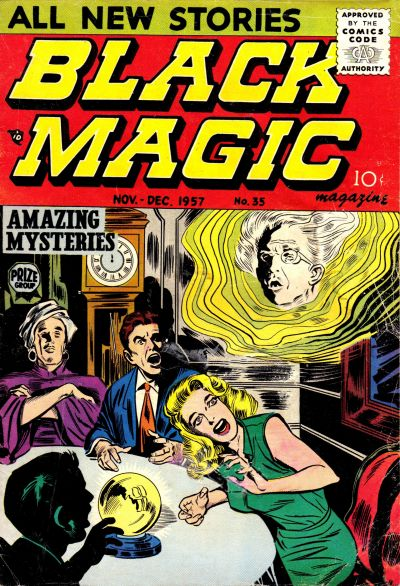 Cover for Black Magic (Prize, 1950 series) #v6#2 (35)