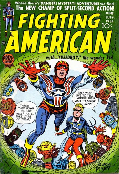 Cover for Fighting American (Prize, 1954 series) #v1#2 [2]