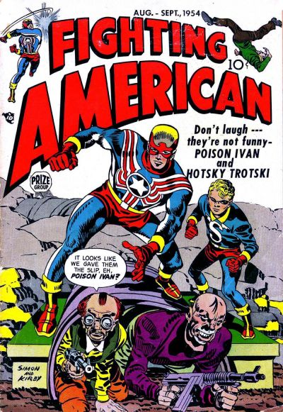 Cover for Fighting American (Prize, 1954 series) #v1#3 [3]