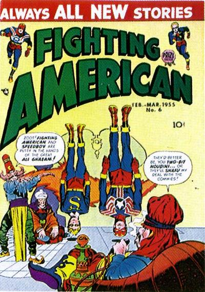 Cover for Fighting American (Prize, 1954 series) #v1#6 (6)