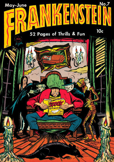 Cover for Frankenstein (Prize, 1945 series) #7