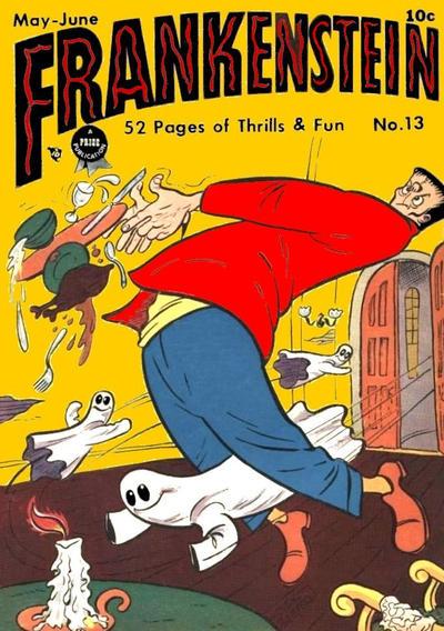 Cover for Frankenstein (Prize, 1945 series) #v2#1 (13)