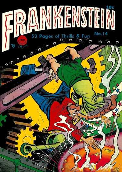 Cover for Frankenstein (Prize, 1945 series) #v2#2 (14)