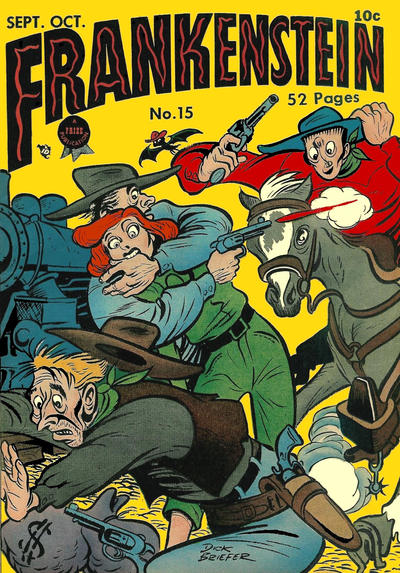 Cover for Frankenstein (Prize, 1945 series) #v2#3 (15)