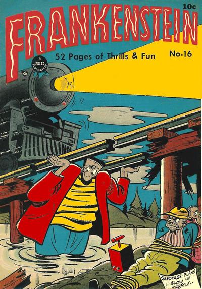Cover for Frankenstein (Prize, 1945 series) #v2#4 (16)