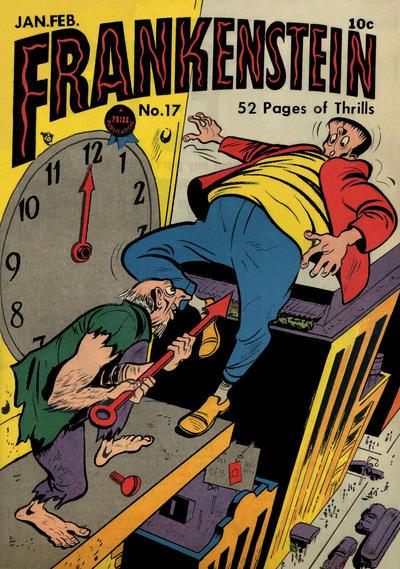 Cover for Frankenstein (Prize, 1945 series) #v2#5 (17)