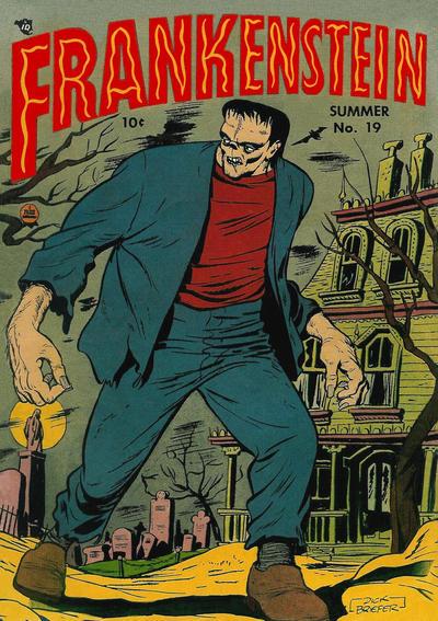 Cover for Frankenstein (Prize, 1945 series) #v3#3 (19)