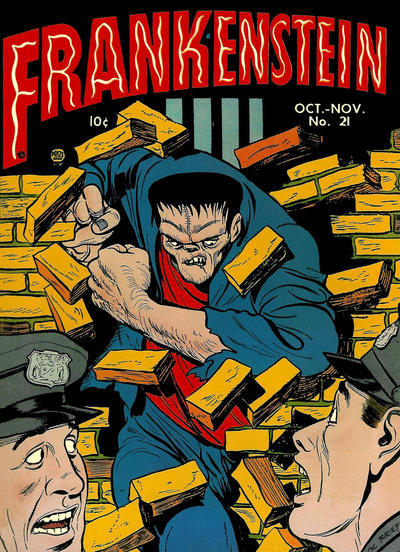 Cover for Frankenstein (Prize, 1945 series) #v3#5 (21)