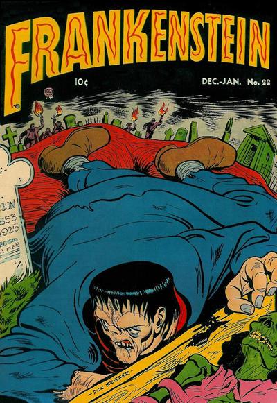 Cover for Frankenstein (Prize, 1945 series) #v3#6 (22)