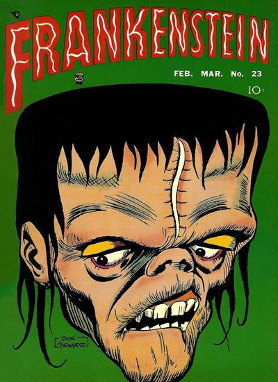 Cover for Frankenstein (Prize, 1945 series) #v4#1 (23)