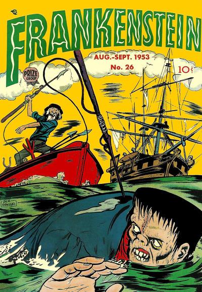 Cover for Frankenstein (Prize, 1945 series) #v4#4 (26)