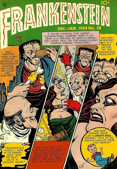 Cover for Frankenstein (Prize, 1945 series) #v4#6 (28)