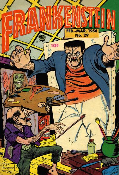 Cover for Frankenstein (Prize, 1945 series) #v5#1 (29)