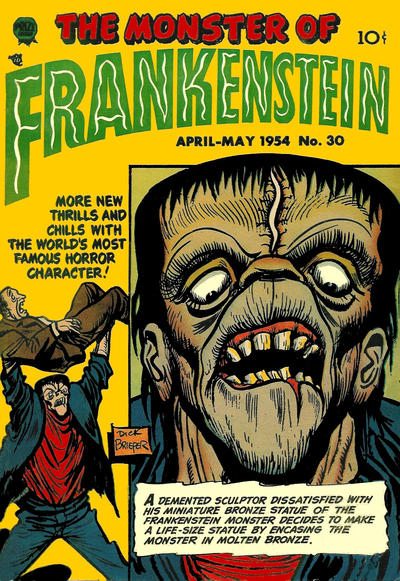 Cover for Frankenstein (Prize, 1945 series) #v5#2 (30)