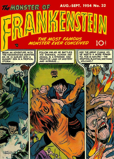Cover for Frankenstein (Prize, 1945 series) #v5#4 (32)