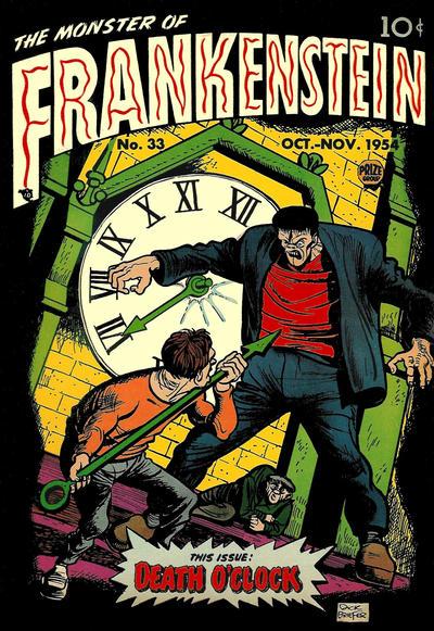Cover for Frankenstein (Prize, 1945 series) #v5#5 (33)