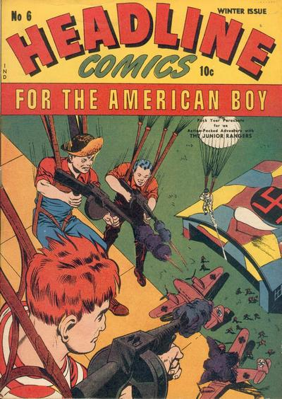 Cover for Headline Comics (Prize, 1943 series) #v1#6 (6)