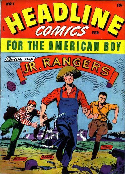 Cover for Headline Comics (Prize, 1943 series) #v1#1 (1)