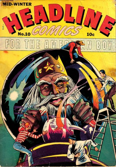 Cover for Headline Comics (Prize, 1943 series) #v1#10 (10)