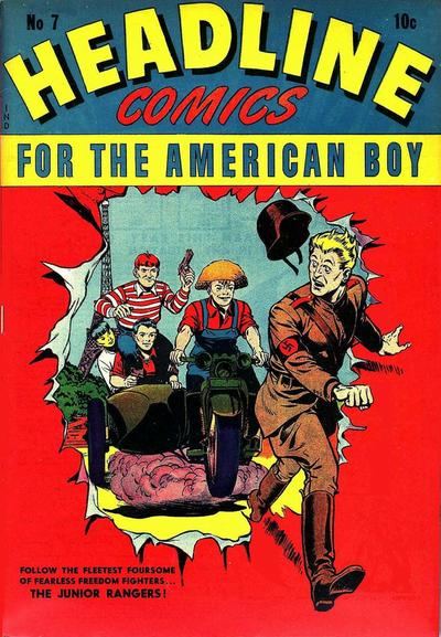 Cover for Headline Comics (Prize, 1943 series) #v1#7 (7)