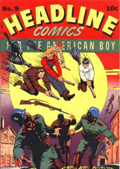 Cover for Headline Comics (Prize, 1943 series) #v1#9 (9)