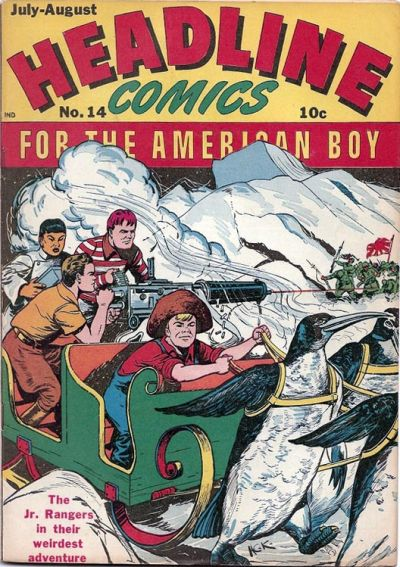 Cover for Headline Comics (Prize, 1943 series) #v2#2 (14)