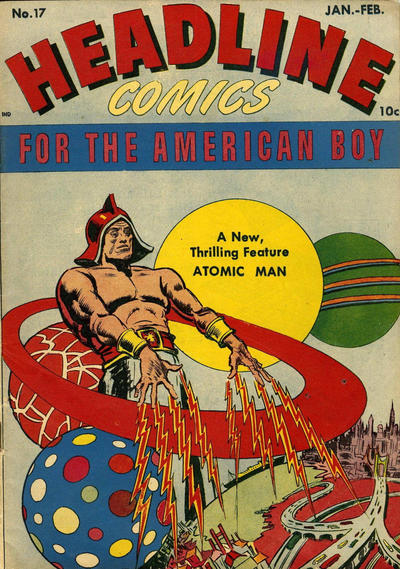 Cover for Headline Comics (Prize, 1943 series) #v2#5 (17)